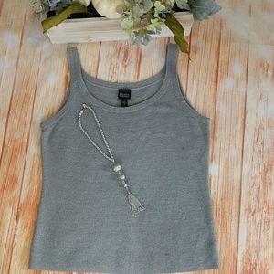 Eileen Fisher 100% Merino wool tank top. Size M